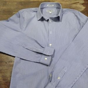 Express Men's Dress Shirt 14 - 14 1/2